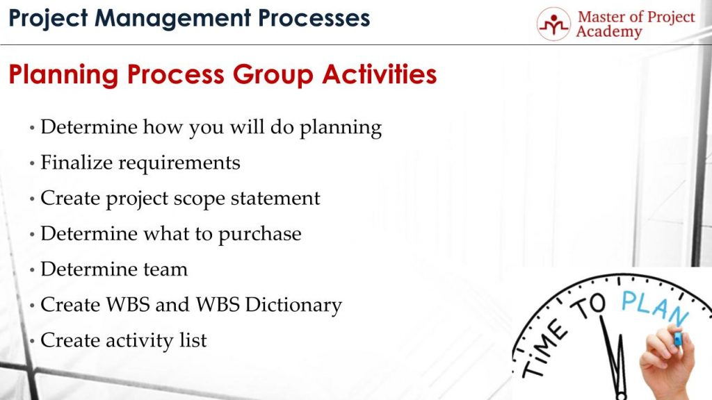 Steps Of Project Planning Process  What Are The Planning Process