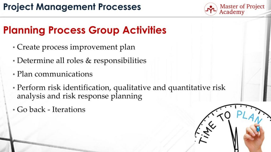 Steps Of Project Planning Process  What Are The Planning