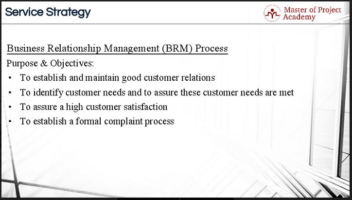 ITIL Business relationship management