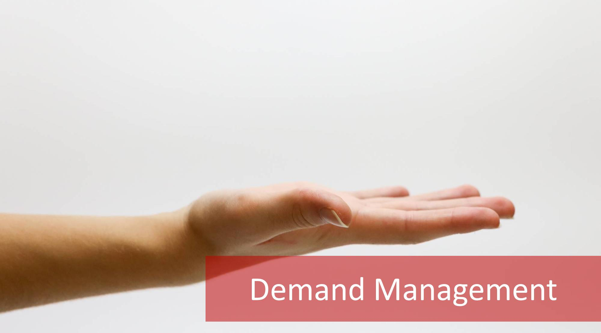 ITIL Demand management