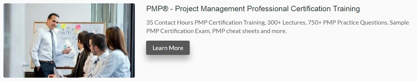 PMP Exam Review