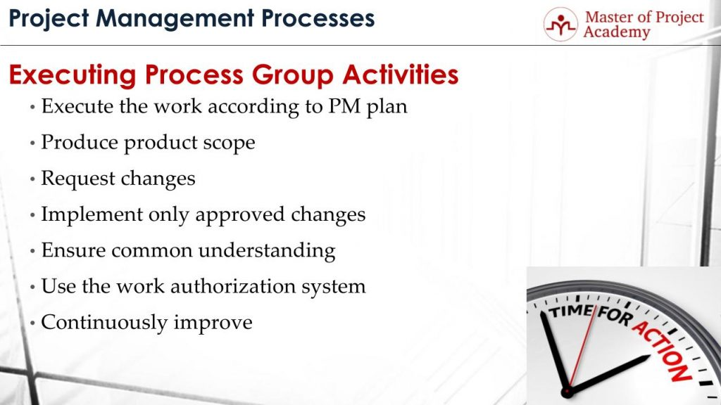 Executing Process Group