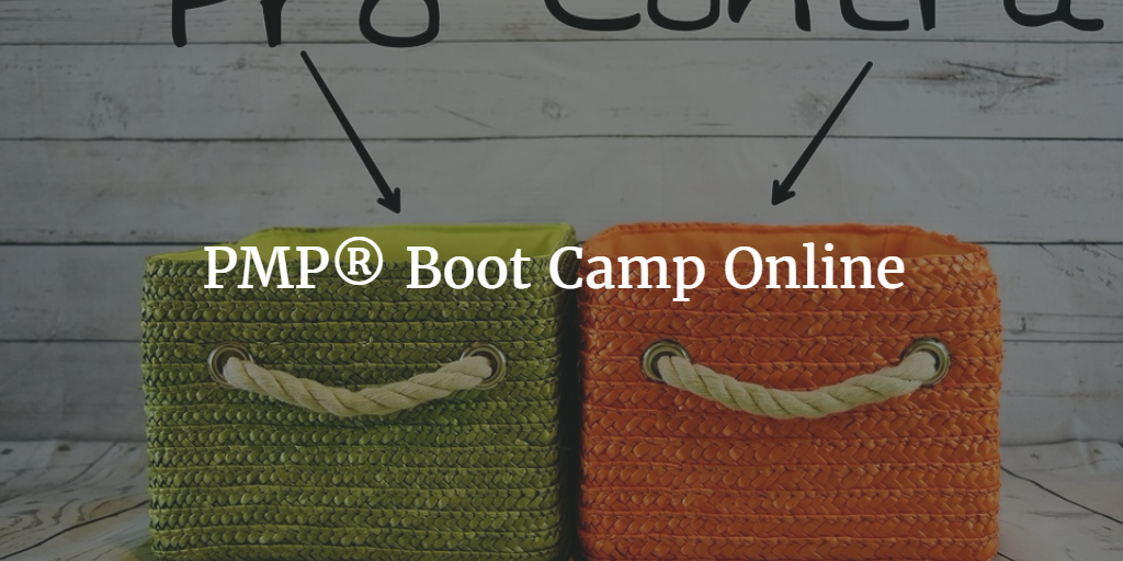PMP Boot Camp Online