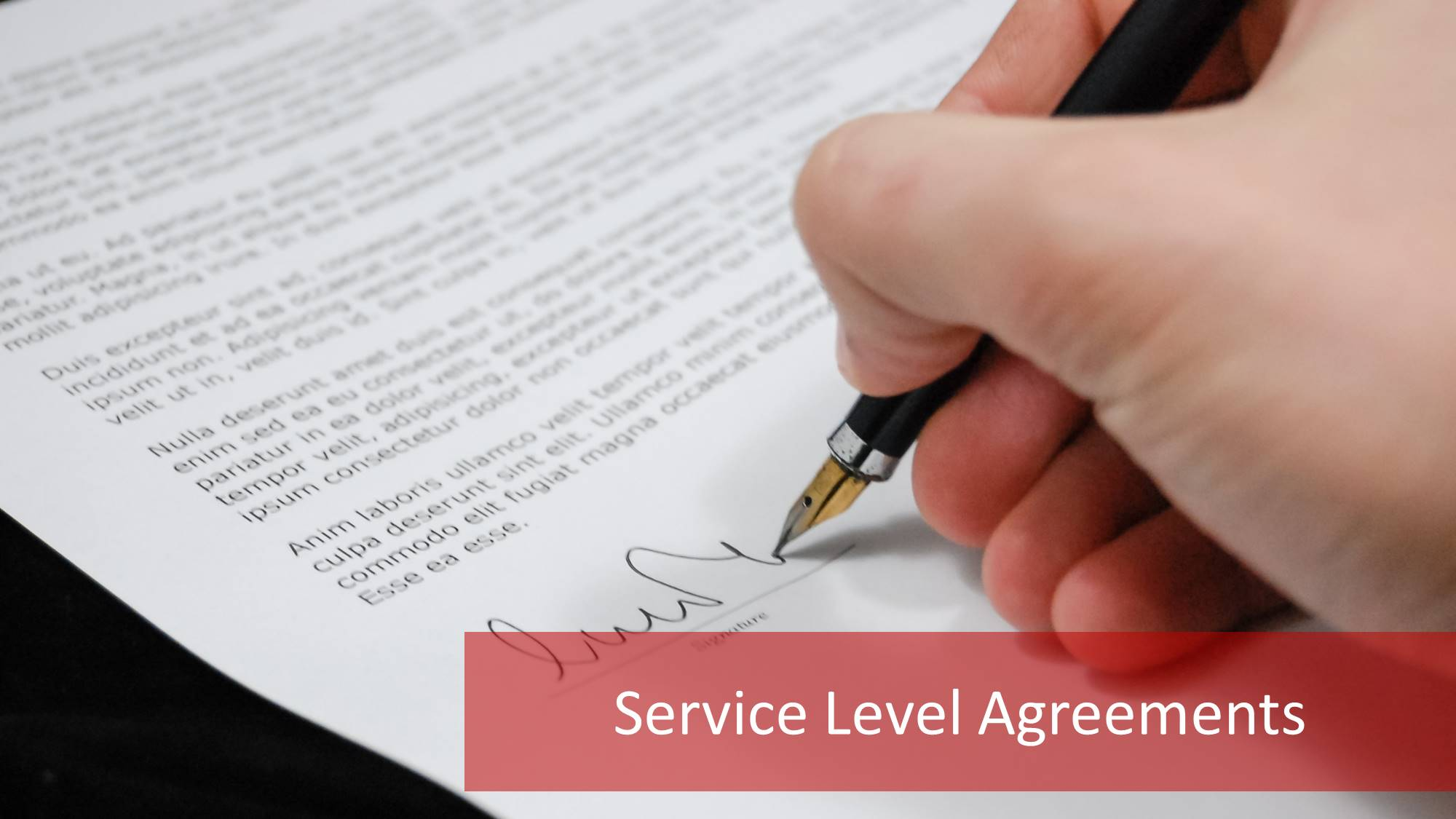 Grundlagen Von Service Level Agreements Sla 12