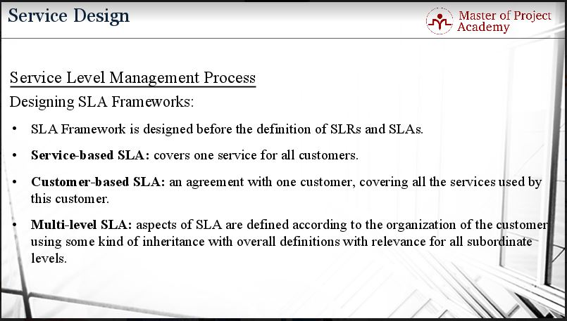 Most Common Types Of Service Level Agreement Sla  Master Of