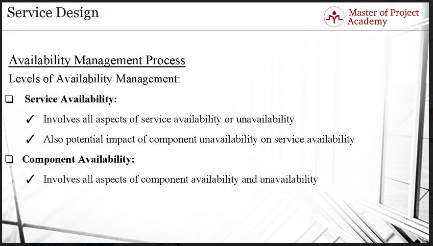 623-slide-3 Availability Management and its Role in IT Service Management