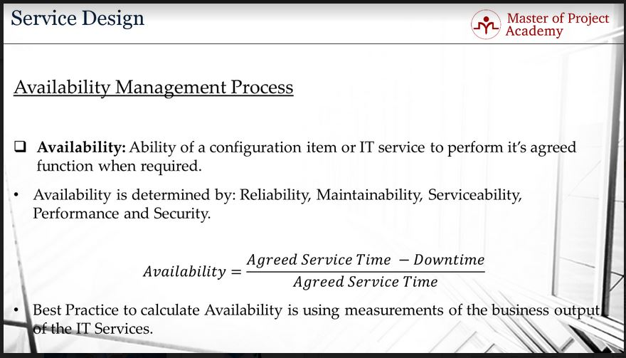 623-slide-4 Availability Management and its Role in IT Service Management