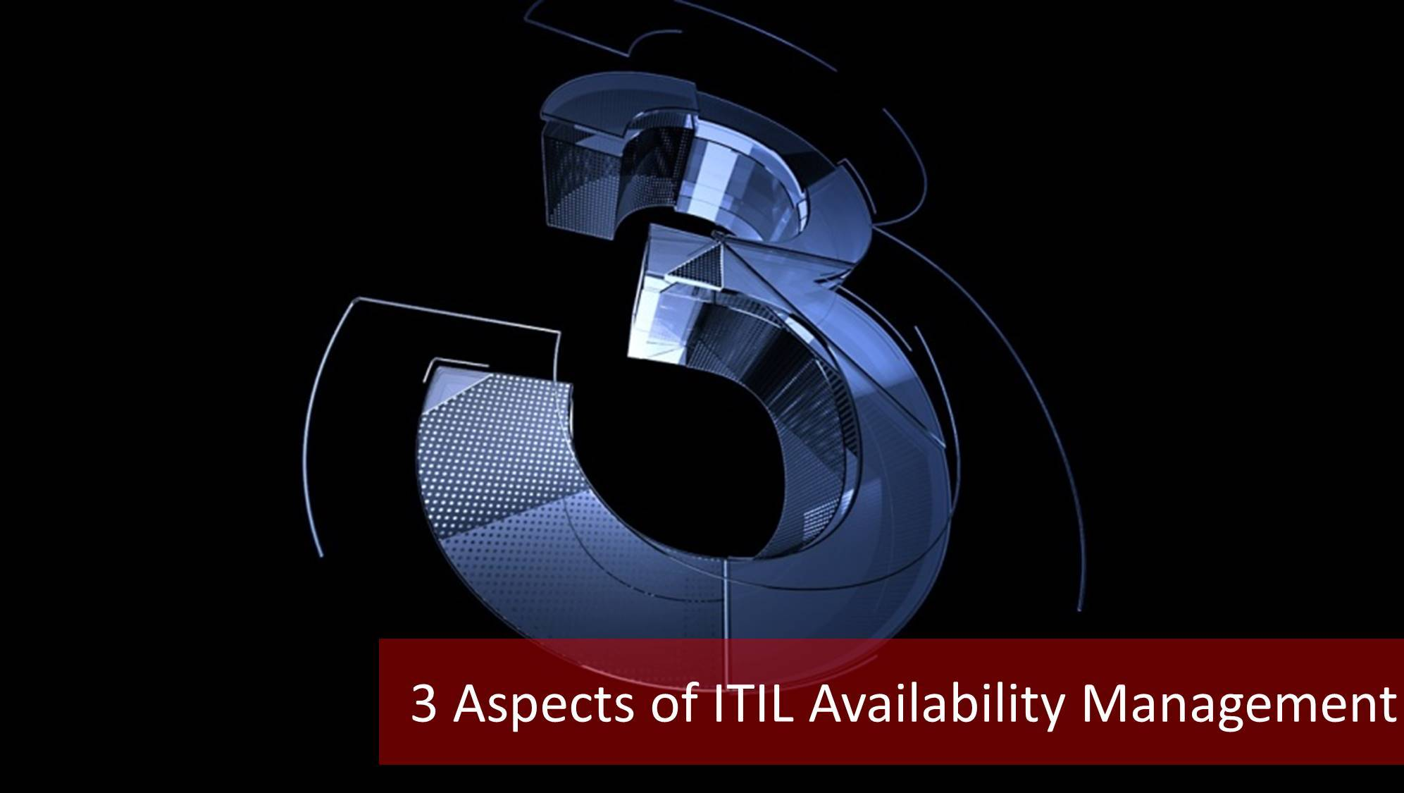 ITIL availability management