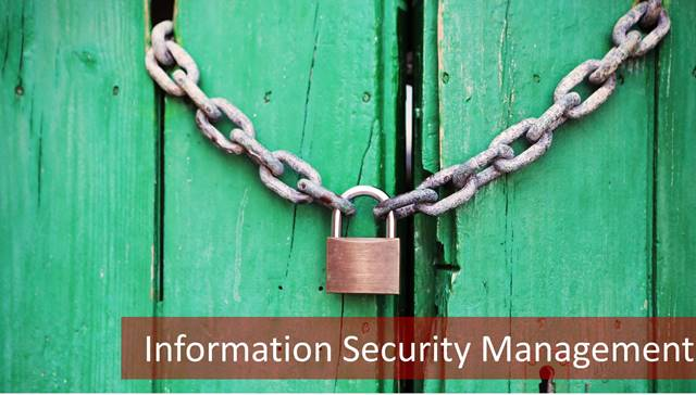 626-f Information Security Management: The Full Brief