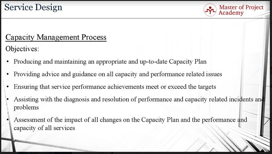 Capacity Management How Does It Fit Into Itil Service Design