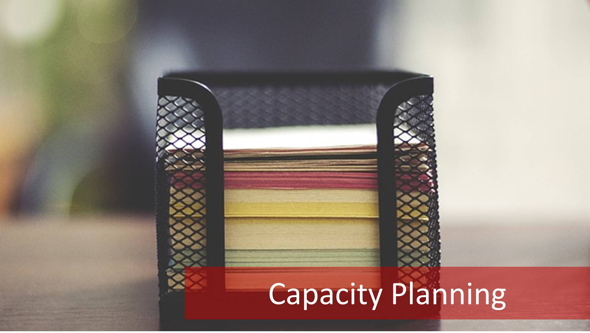 630-capacity-planning IT Capacity Planning: Balancing Acts and Process Interactions