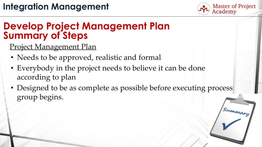 Develop Project Management Plan Learn The Process Step by Step – Project Management Plan