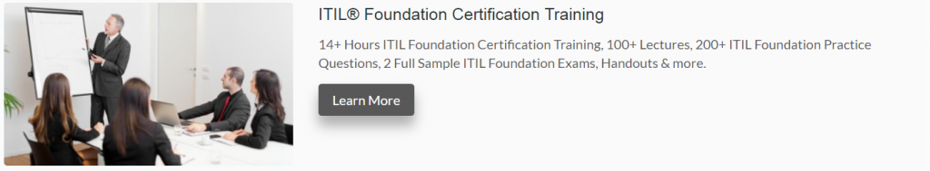 ITIL Foundation Review