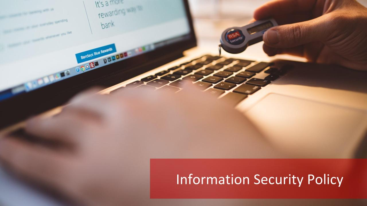 Information Security Policy