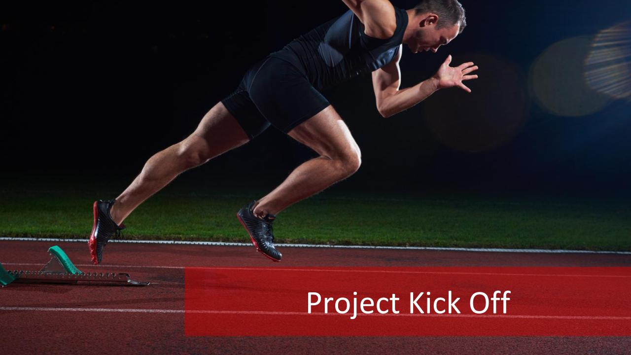 project kick off