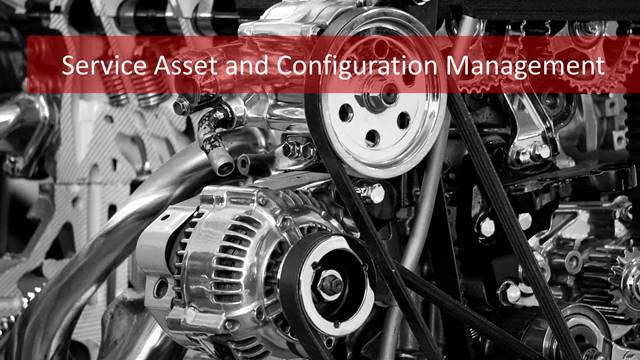 Service asset and configuratin management