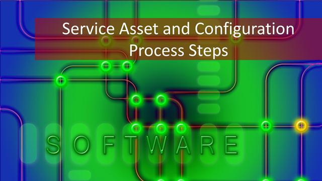 714-f SACM: 5 Key Activities of Service Asset & Configuration Management