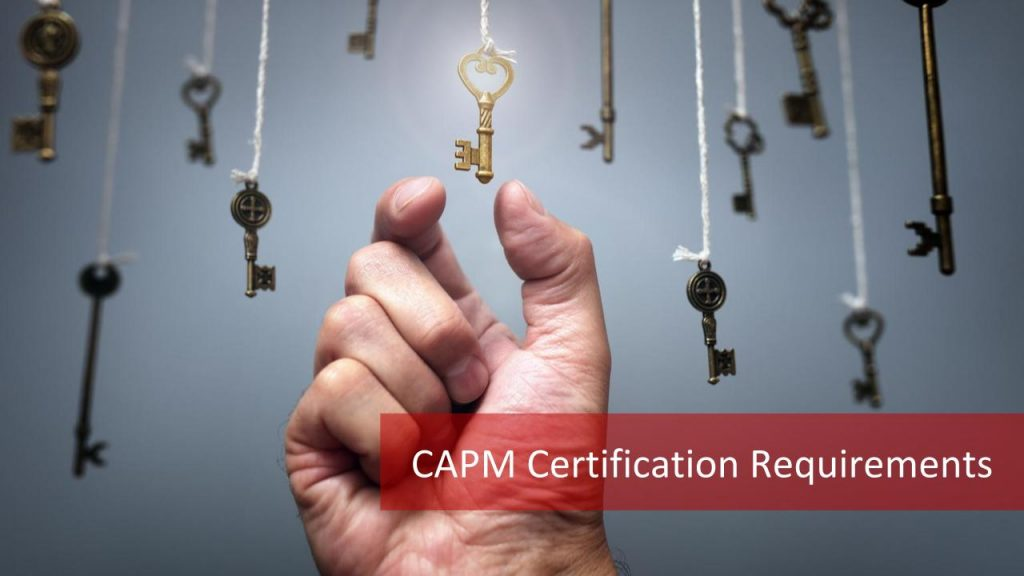 2018 Capm Certification Requirements Are You Eligible For Capm Exam