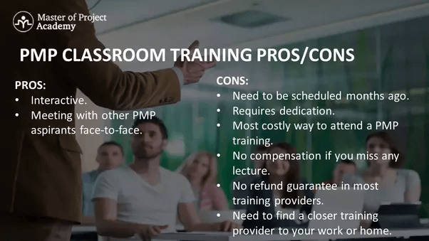 PMP certification classroom training