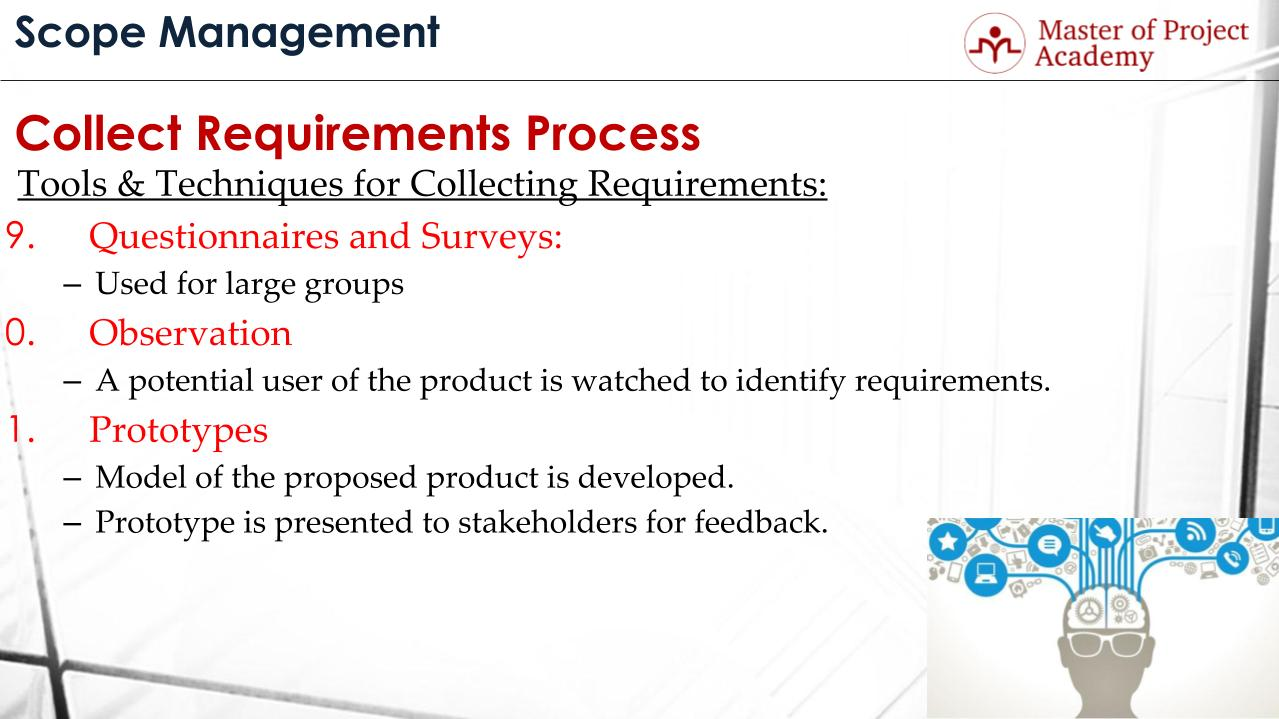 collect requirements