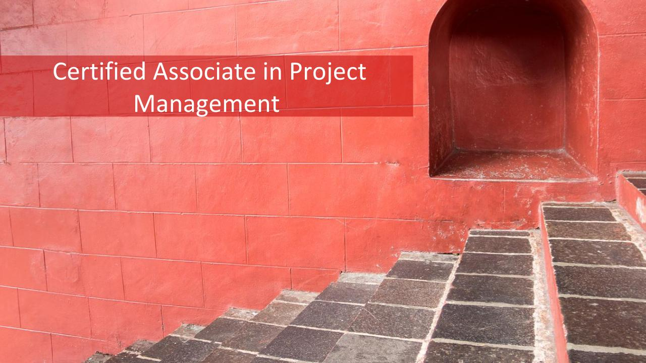 2019 Certified Associate In Project Management 7 Steps To Become Capm
