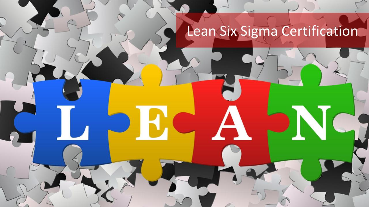 4 Benefits Of Lean Six Sigma Certification Master Of Project