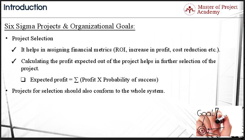 six sigma projects