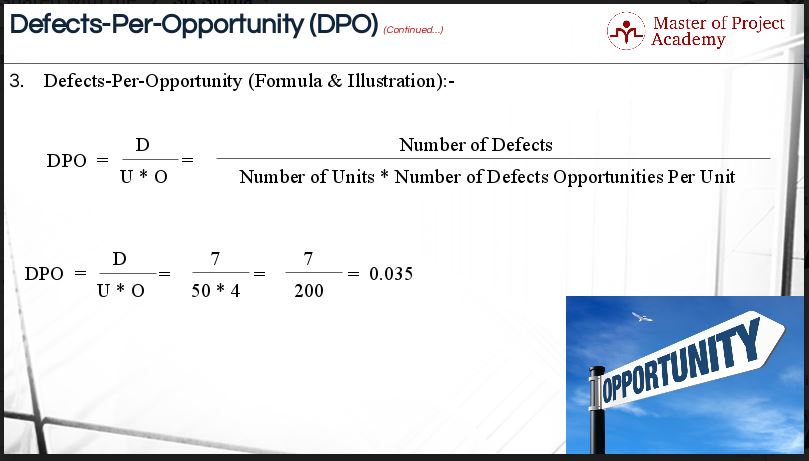 1.16-slide Defects per Opportunity: 5 Steps to Caluculate DPO