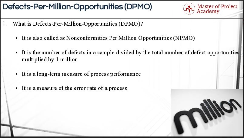1.17-slide-1 5 Steps for Calculating Defects per Million Opportunities (DPMO)