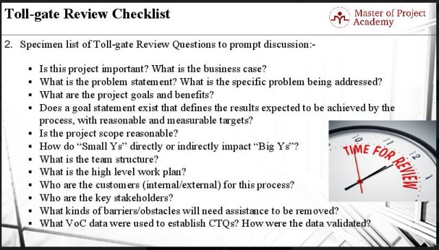 1.34-slide-e1501597820304 Tollgate Checklist: 12 Questions to Complete Define Stage