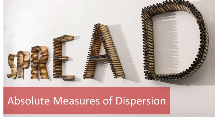 absolute measures of dispersion