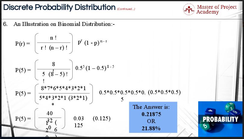 3.13-slide-2 Why the Binomial Distribution is Useful for Six Sigma Projects