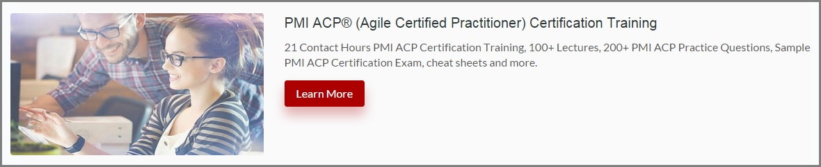 PMI ACP Sample Exam Questions