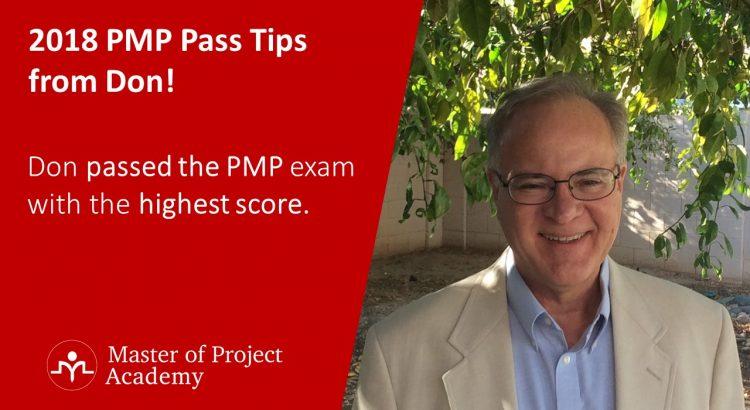 PMP pass 2018