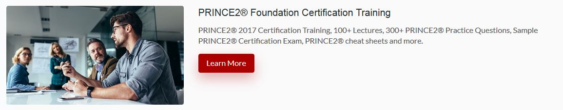 Prince2 Online Training