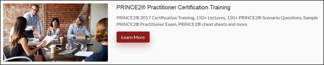 Prince2-Practitioner-Course-Box How I Passed Prince2 Practitioner Exam - Mauro's Prince2 Certification Journey