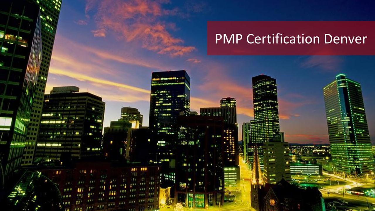 2019 Pmp Certification Denver The Best 8 Pmp Training Denver List