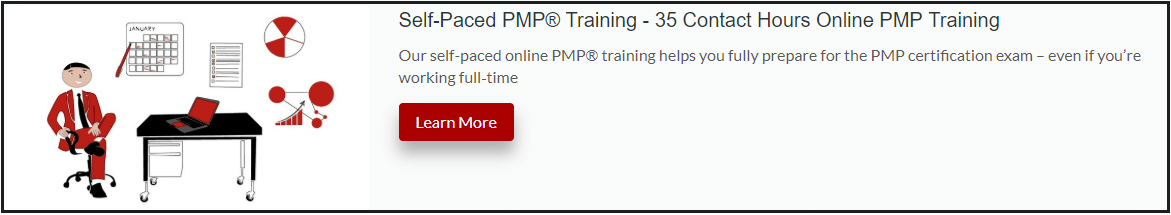 self-paced online PMP training