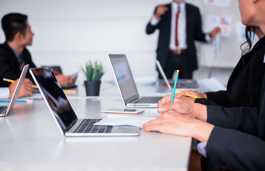 bigstock-Business-People-Meeting-And-Di-250032343-1 PMP Certification Melbourne, Australia - Top 10 PMP Training Melbourne Options