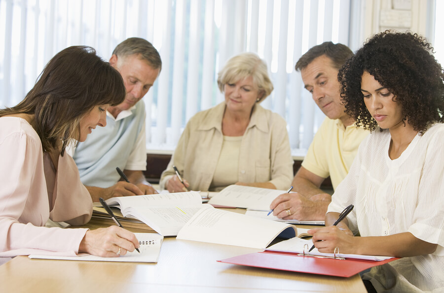 bigstock-Group-Of-Adults-Studying-3915350 PMP Certification Manchester - Top 10 PMP Training Manchester Options