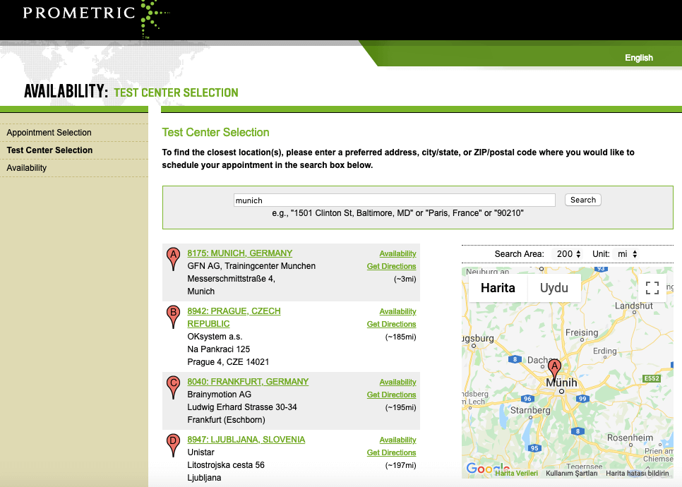 PMP Certification Munich