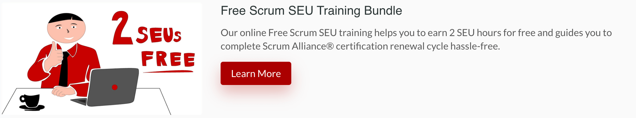 Free-Scrum-SEU-Training Scrum SEU Guide - Renew Scrum Alliance® Cert. 100% Covered