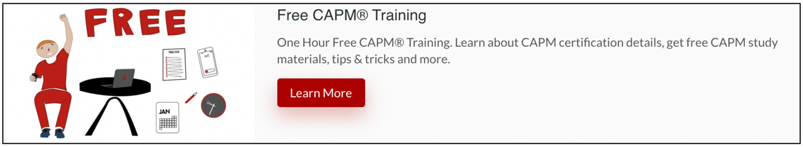 Free-CAPM-Training-Banner Best Project Manager Certification Programs: Top 5 PM Certifications
