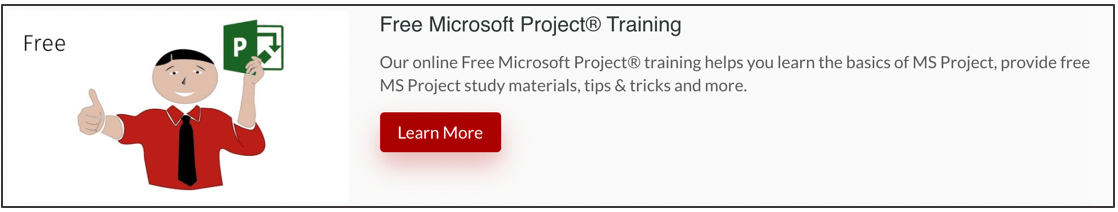 Free-Microsoft-Project-Training-1 Learn MS Project Online - Includes Free Options