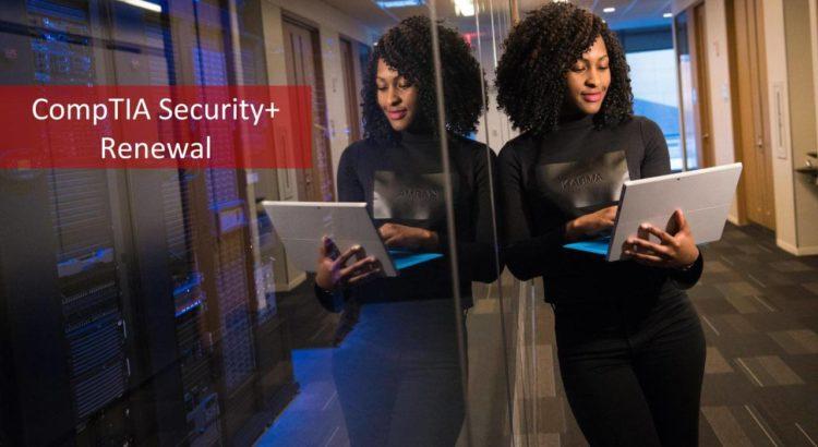 CompTIA Security+ Renewal