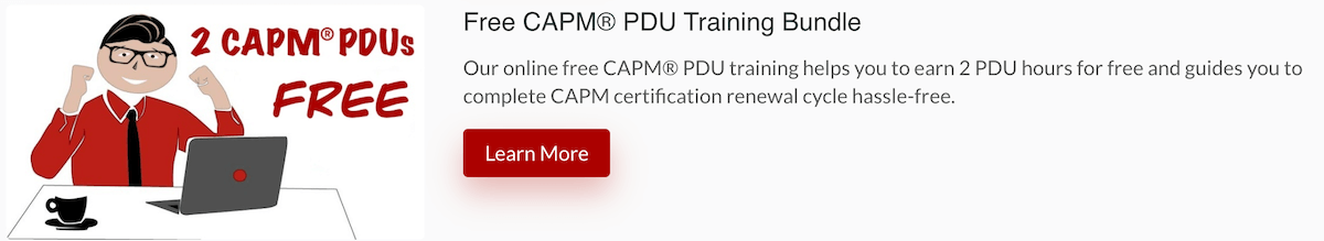 Free-CAPM-PDU-Course-Bundle-Banner PMI PDU Guide - Requirements, Categories and 100% Free Courses