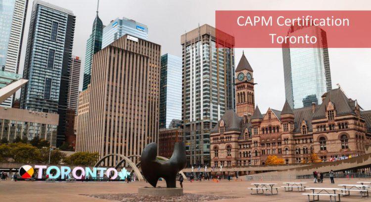 CAPM Certification Toronto