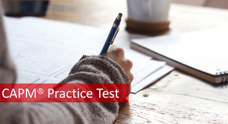 CAPM practice test