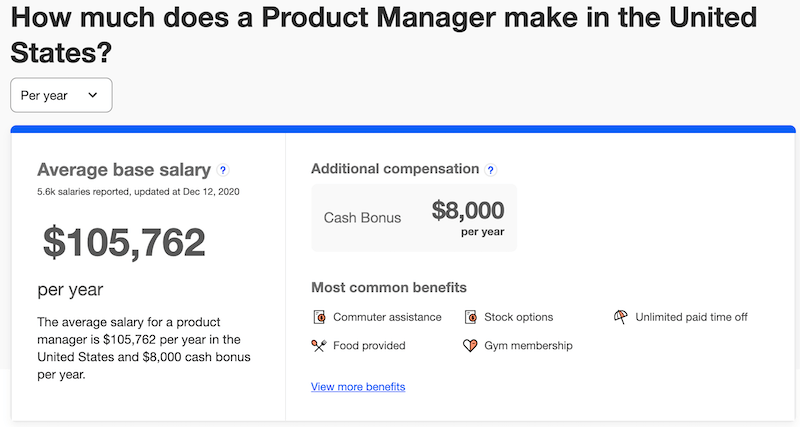 Product-Manager-Salary PMI-ACP Salary ~$120K on Average in the US