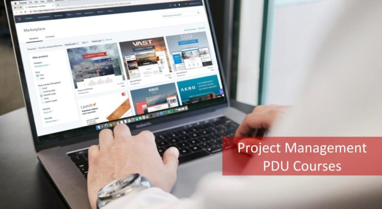 Project Management PDU Courses